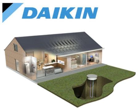 Новые грунтовые тепловые насосы Daikin